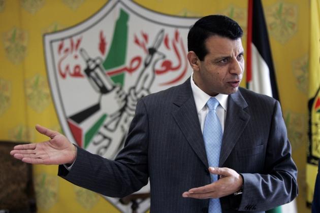 Mohammed Dahlan, quando era un dirigente di Fatah