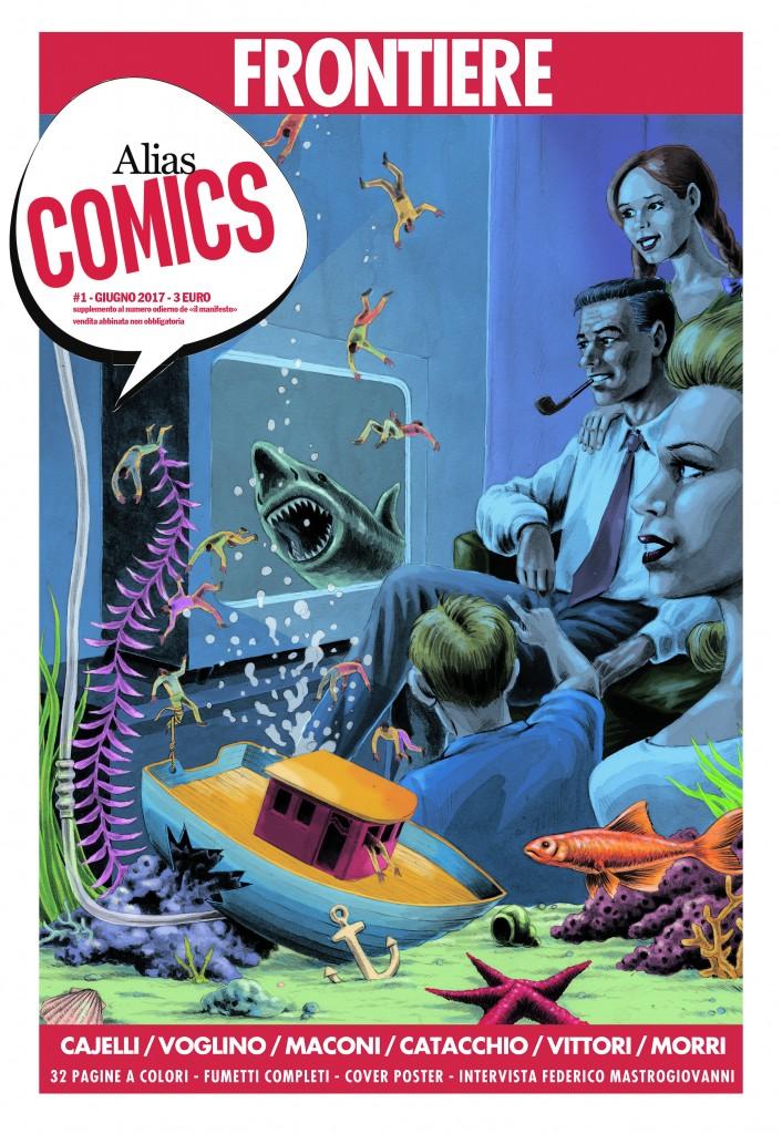 La copertina del numero 1, in edicola dal 28 giugno 2017