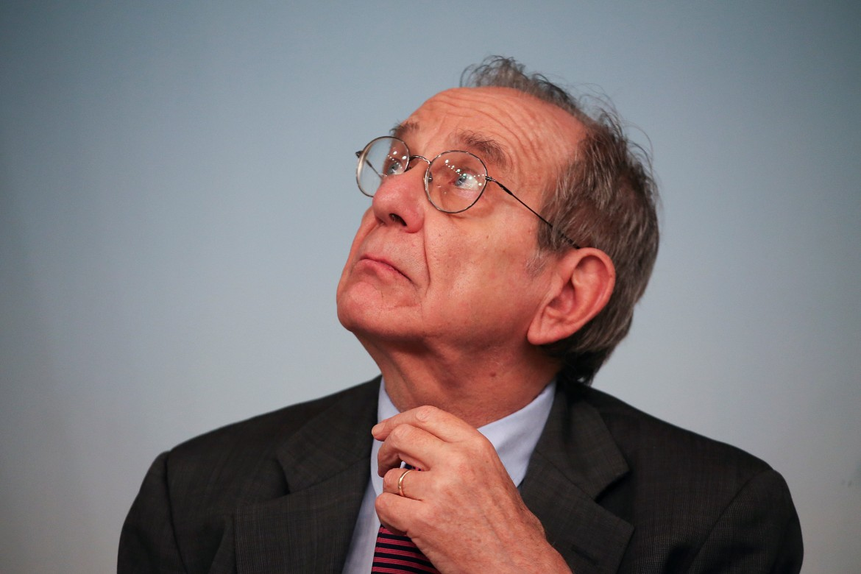 Il ministro dell'economia Padoan