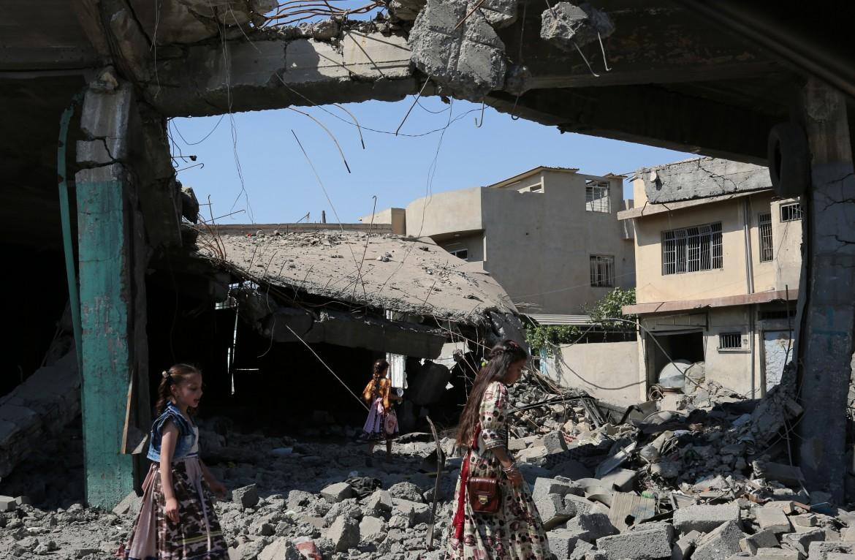 Distruzione a Mosul