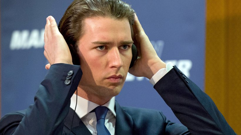 Il cancelliere austriaco Sebastian Kurz