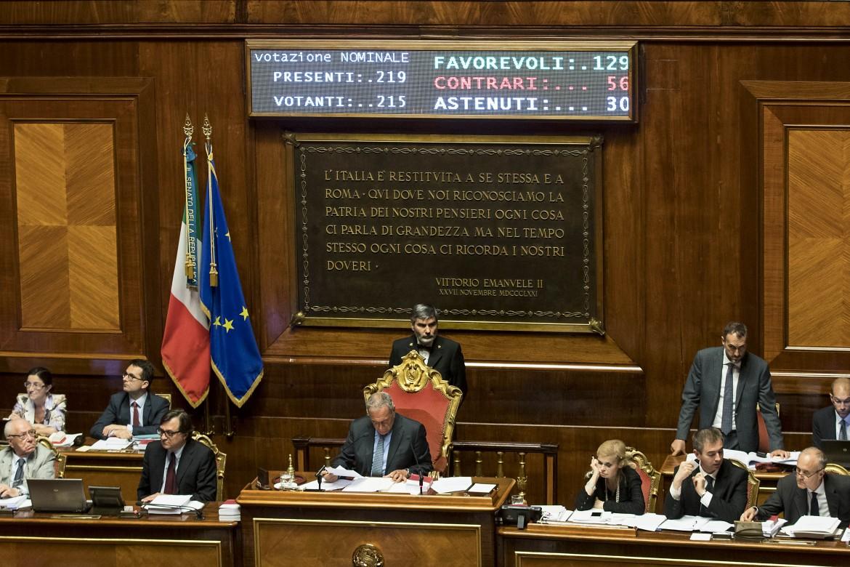 Il voto del nuovo Codice Antimafia ieri in Senato