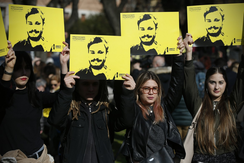 Manifestazione per Giulio Regeni a Roma