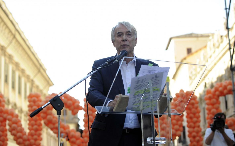 Giuliano Pisapia, ex sindaco di Milano, alla kermesse del primo luglio a Roma