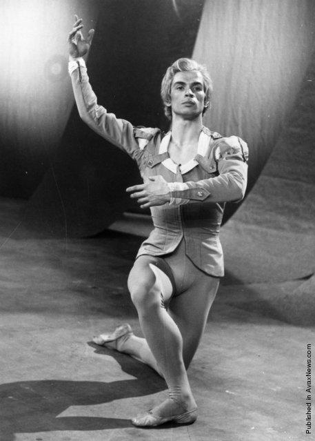 Nureyev in uno scatto anni '60