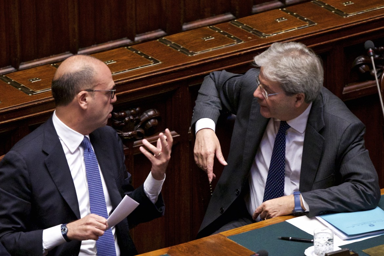 Angelino Alfano e Paolo Gentiloni