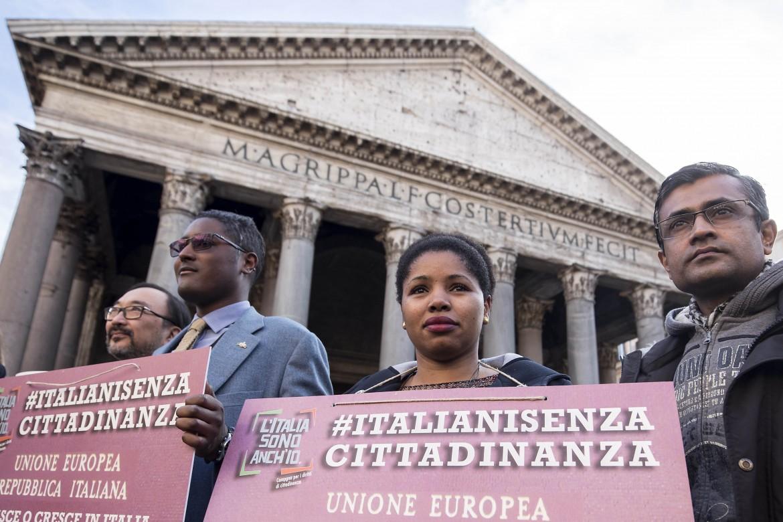 Manifestazione sul diritto di cittadinanza