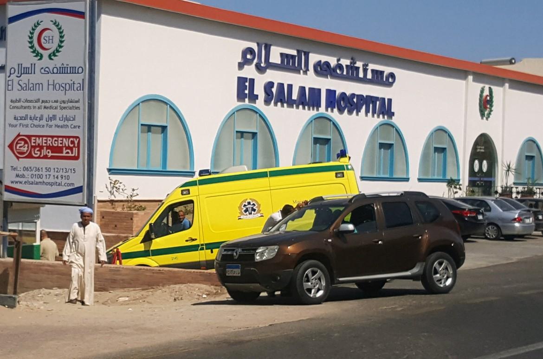 L'ospedale di Hurghada