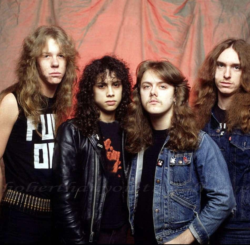 I Metallica negli anni Ottanta