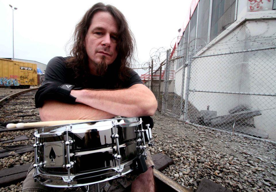 Paul Bostaph, batterista degli Slayer