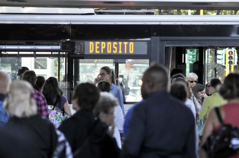 Sciopero dei trasporti a Roma