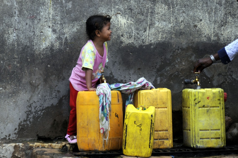 Mancanza d'acqua in Yemen