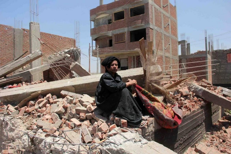 Demolizioni nell'isola di al-Warraq, al Cairo