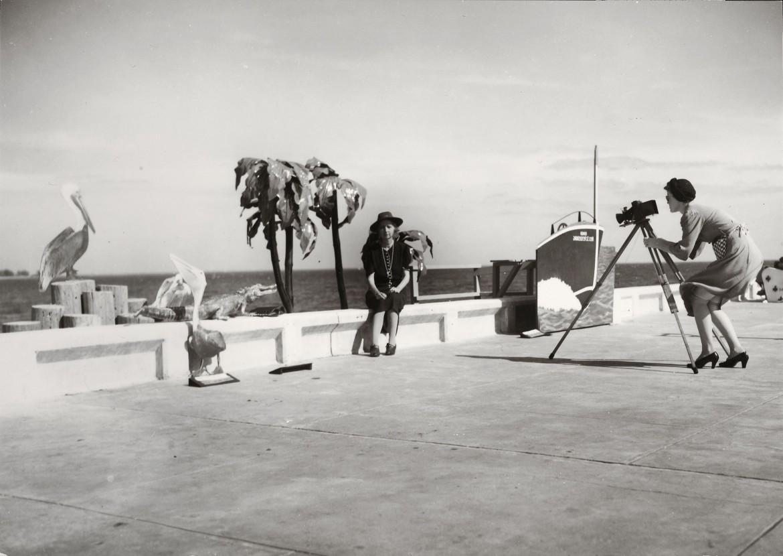 Walker Evans, Resort Photographer at work