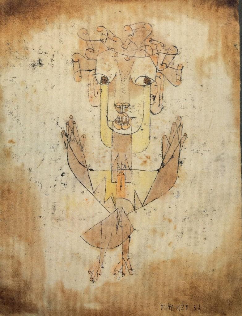 «Angelus Novus» di Paul Klee
