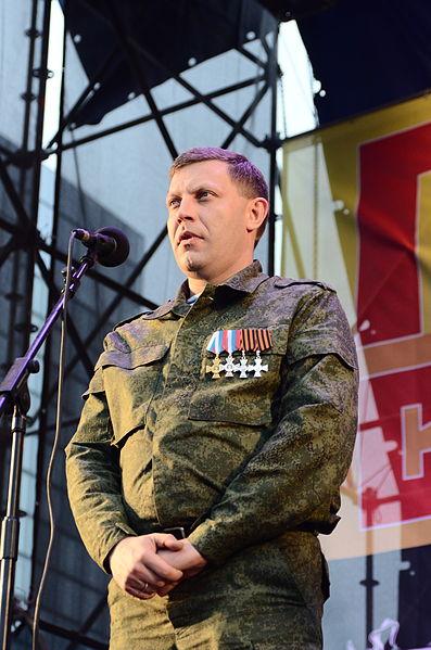 Alexander Zacharchenko, leader della autoproclamata «Repubblica Popolare di Lugansk