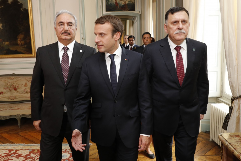 Macron tra Haftar e Serraj