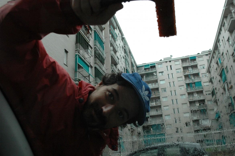 Vittorio Cane, uno degli artisti dell'etichetta, sotto Govind Khurana