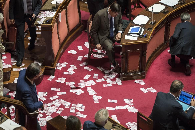 Il voto ieri al Senato