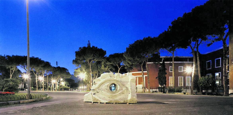 Olivo Barbieri, Roma '87, da «Notte», 1991, Art&