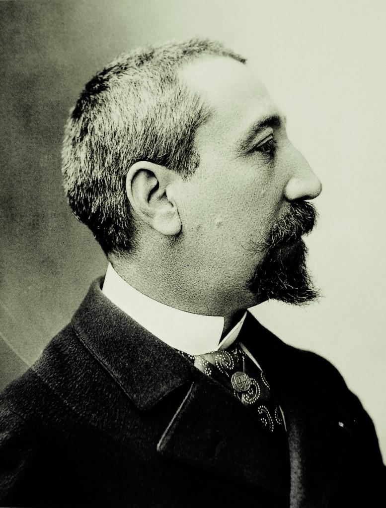 Anatole France in un ritratto di Paul Nadar, realizzato negli anni Settanta dell'Ottocento