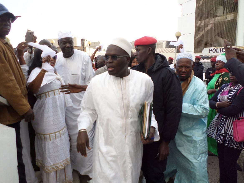 Khalifa Sall, sindaco di Dakar, quando era ancora a piede libero