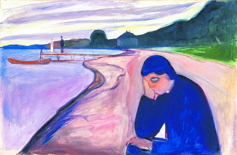 Edvard Munch , «Melancholy», 1893