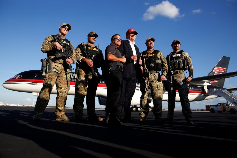 Trump a Orlando, Florida, nel novembre 2016, durante la sua campagna elettorale