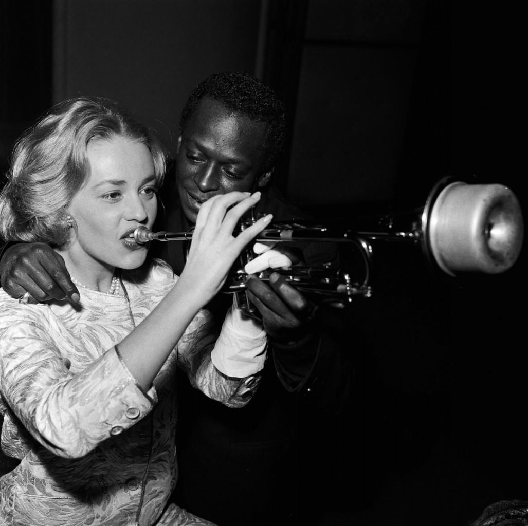 Jeanne Moreau e Miles Davis