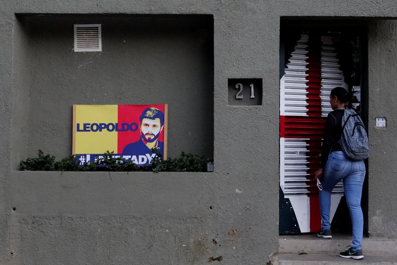 La casa di Lopez, arrestato ieri in Venezuela