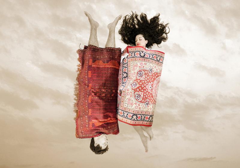 Un'opera di Babak Kazemi