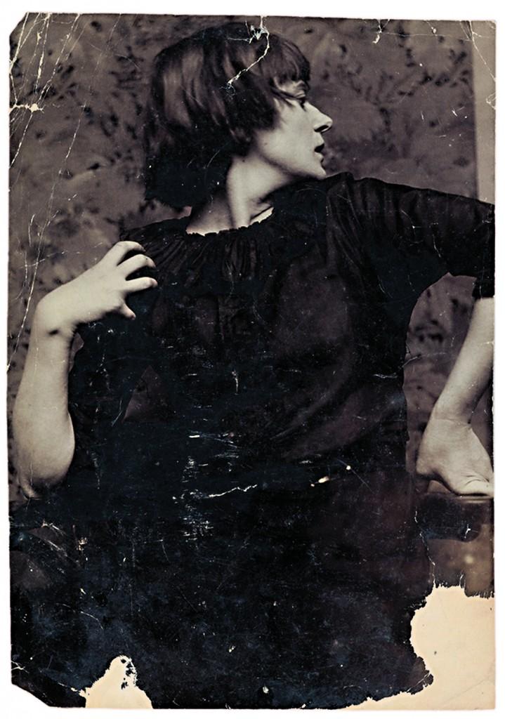 Emmy Hennings in una foto di anonimo, ca. 1910-'13