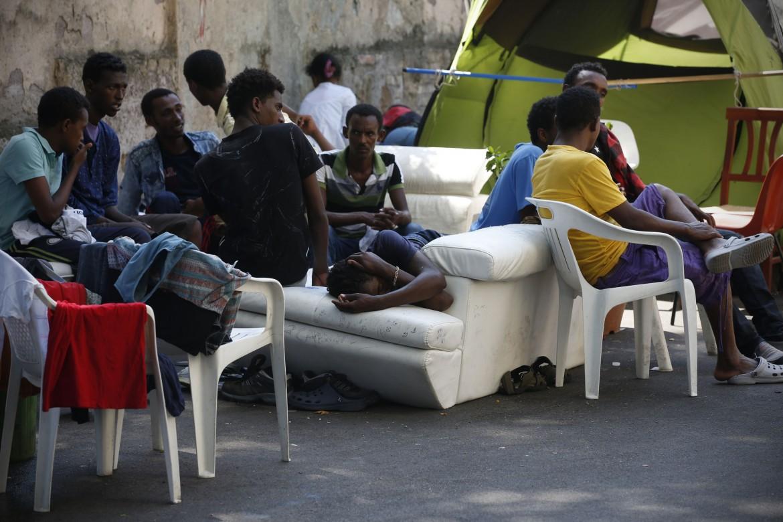 Profughi a Roma