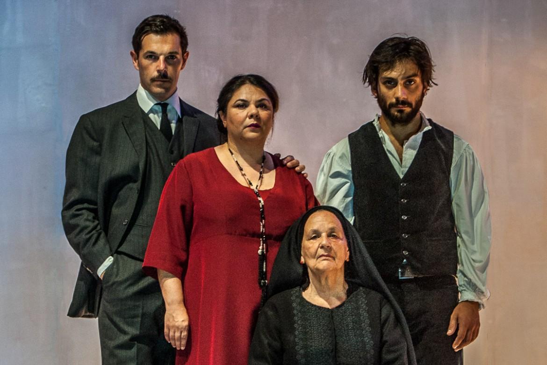 Michela Murgia con Lia Careddu, Valentino Mannias, Marco Brinzi