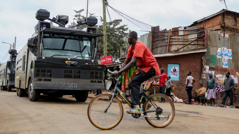 Le strade di Nairobi presidiate dalle forze di sicurezza in vista del voto