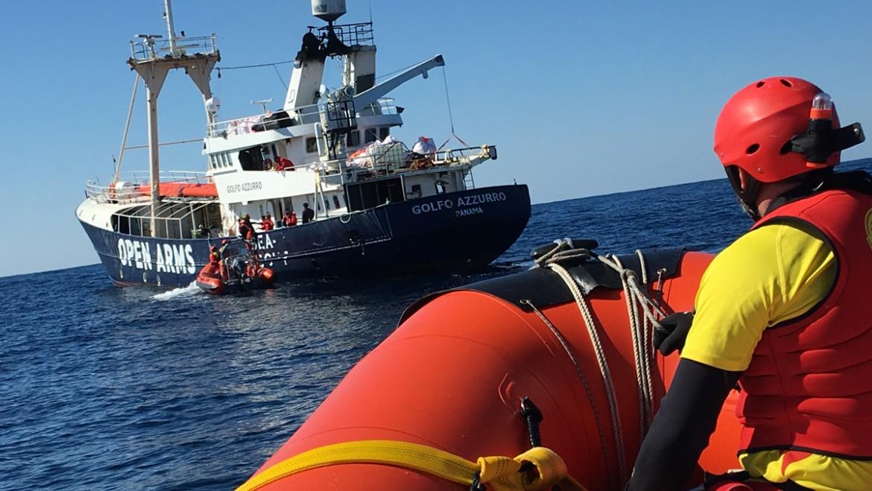 La nave spagnola Proactiva Open Arms