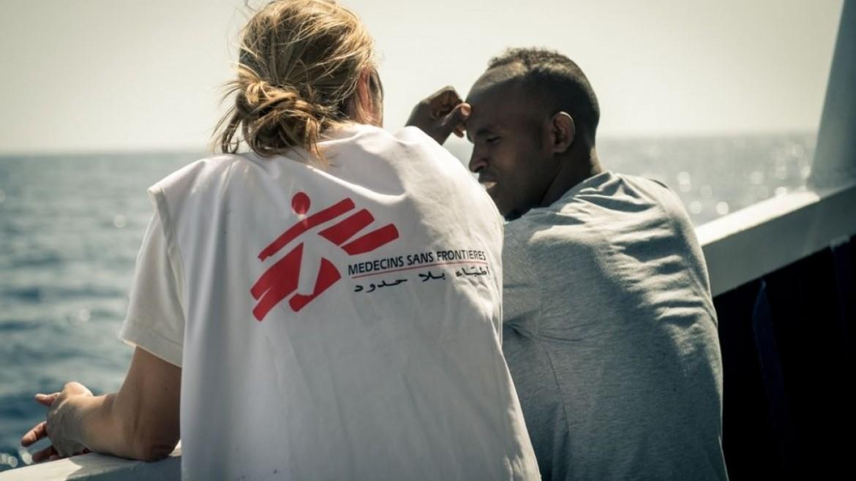 Volontario di Medici senza frontiere