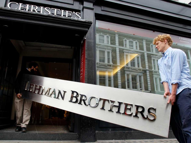 Il collasso di Lehman Brothers nel 2008