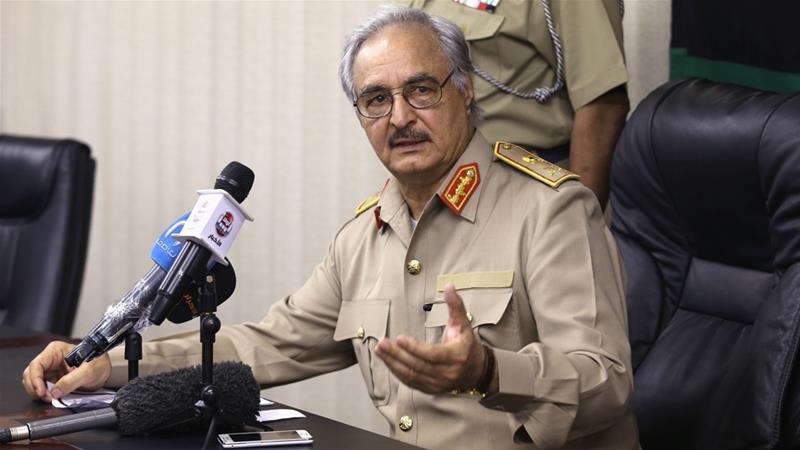 Il generale libico Haftar