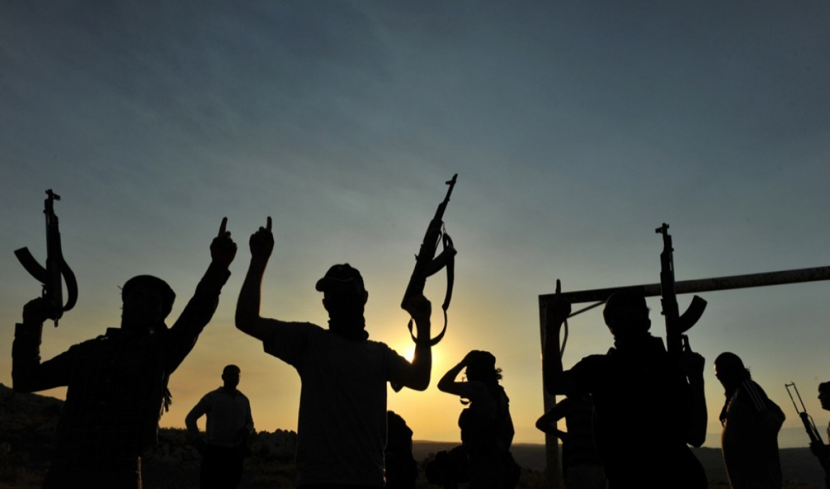 Foreign fighter in Siria