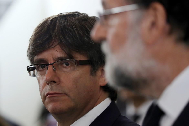 Puigdemont e Rajoy