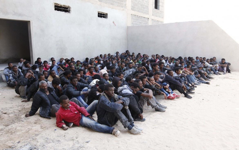 Il centro di detenzione di Zawia in Libia