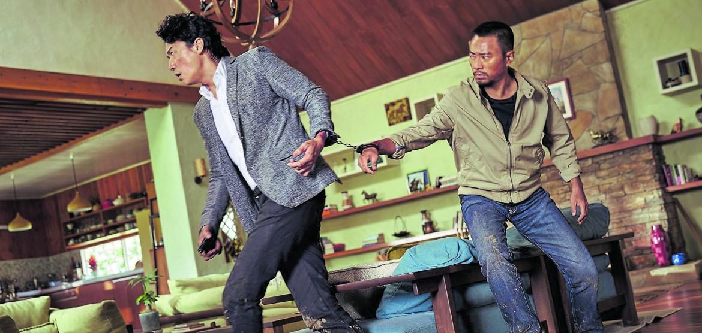 Zhang Hanyiu  e Masaharue Fukuyama  in «Manhunt»
