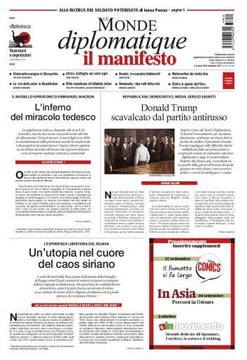 Le Monde diplomatique di settembre 2017
