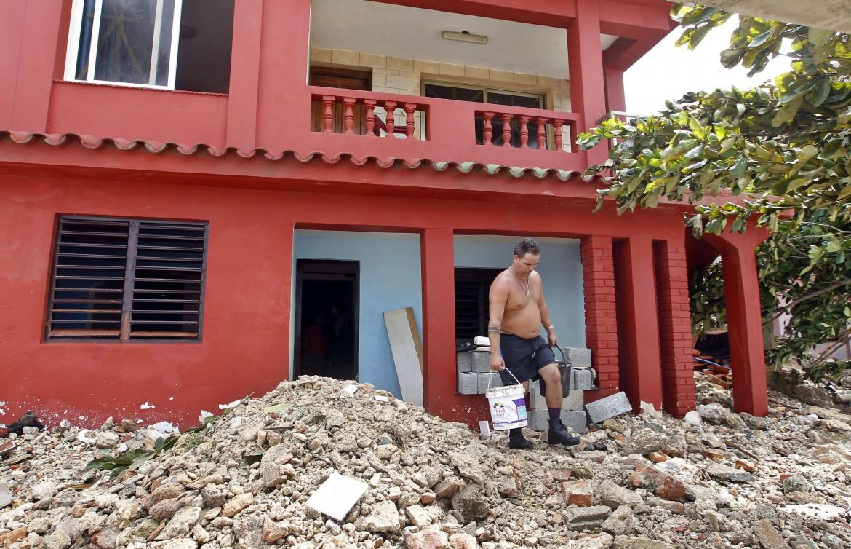 I danni provocati dal passaggio di Irma a Cuba