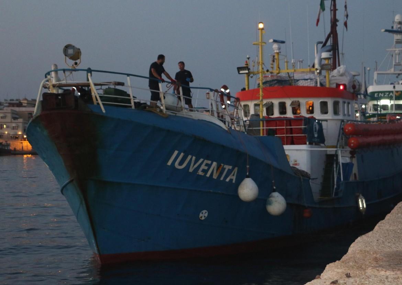 La nave Iuventa della ong Sea Watch