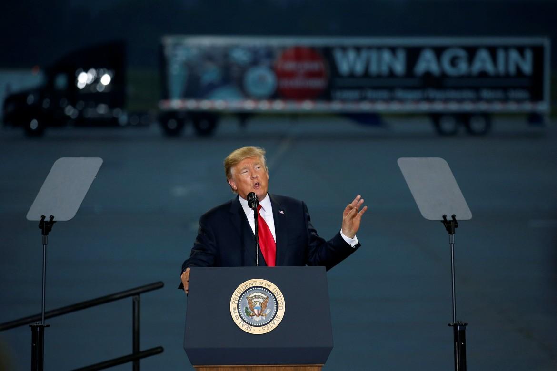 Il presidente statunitense Trump