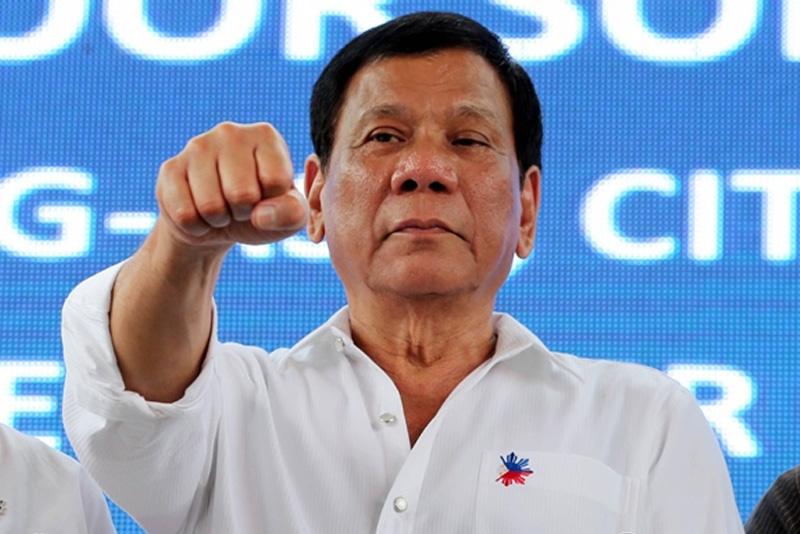 Il presidente filippino Duterte