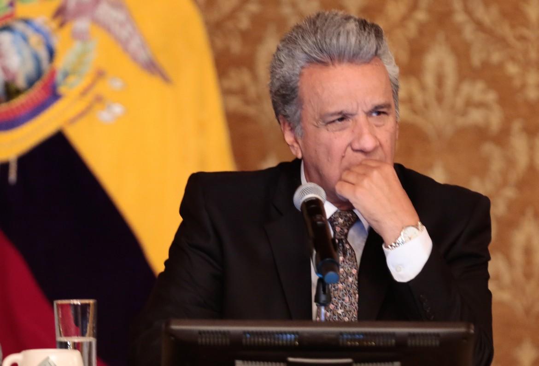 Il presidente dell'Ecuador, Lenin Moreno
