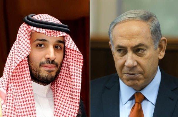 Mohammed bin Salman e il premier israeliano Netanyahu